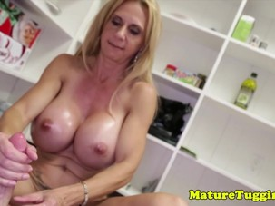 Bigtitted stepmom giving..