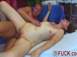 Sexy mature gets pounded by..