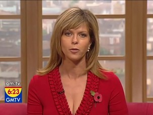 Kate Garraway - big clevage and..