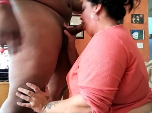 Neighbors BBW Wife Letting me..