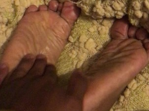 Mature Ebony Sole Up Tickles