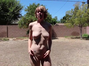 Backyard Nudity