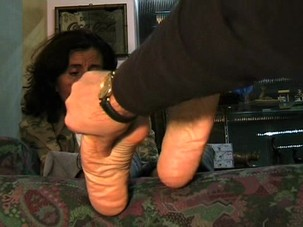 Milf Foot massage.