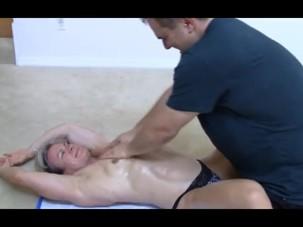 Kris clark Chest Massage