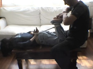 amateur hogtied and tickled