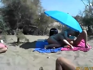 public sex in beach