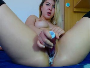Webcam Model Squirts All Over