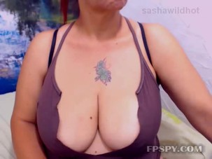 Busty mature chating lucky guy