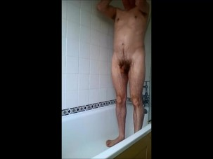 Shower time wank 23 ‎March..