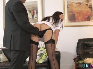 Stockings whore rubbed