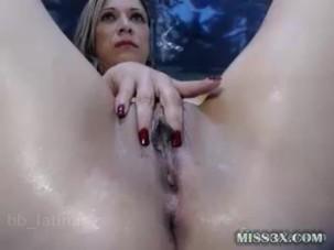 Huge ass anal dildo fuck