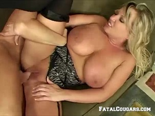 Mature Blonde Loves Oral And..