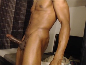 Amature Black Dick Solo