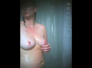 Morning shower my Mom on spy..
